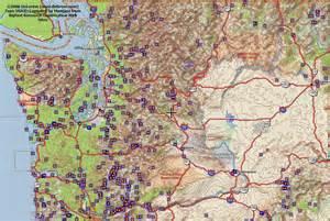mangani s bigfoot maps