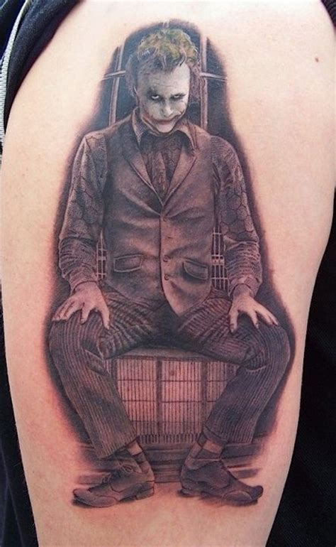 heath ledger joker tattoo designs 47 best joker images on joker tattoos