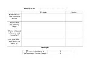 attendance improvement plan template attendance plan by a88i teaching resources tes