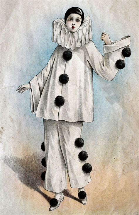 harlequin pattern clothes pierrot costume google search pierrot costume