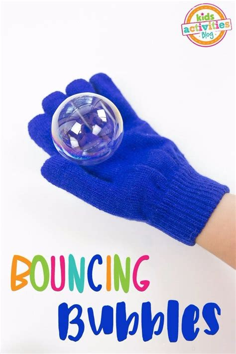 Bouncing Bubbles how to make bouncing bubbles without glycerin