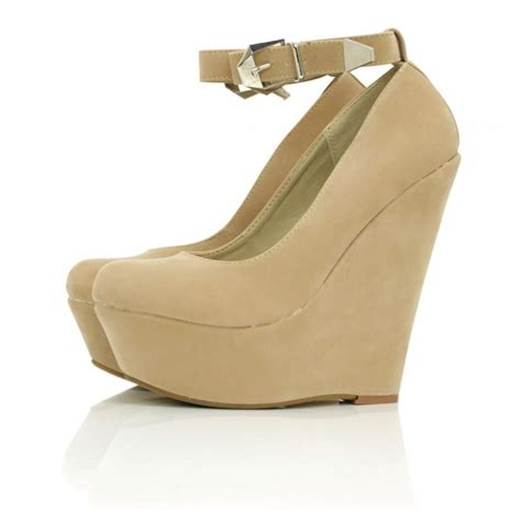 buy majestyk wedge heel platform shoes suede style