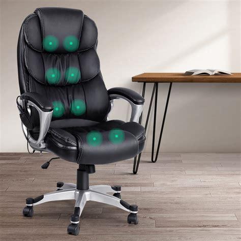 artiss  point heated massage office chair vibration