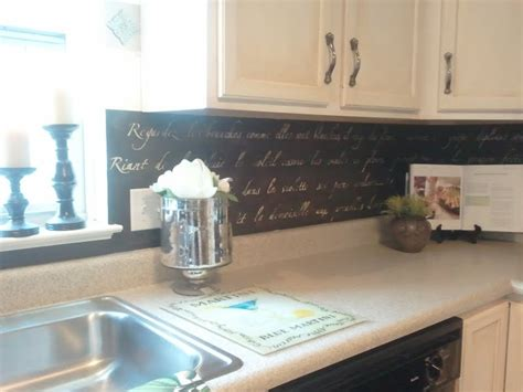 diy tile kitchen backsplash diy stenciled french backsplash snazzy little things