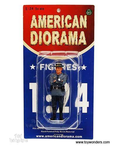 American Diorama Ad 24033 1 24 Officer Iii american diorama figurine state trooper tim figure 1 24