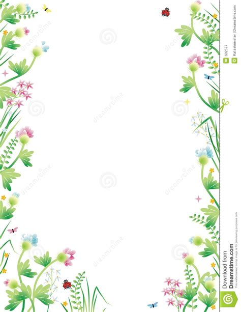 Summer Bed Sheets by Garden Border Clipart Clipartsgram Com