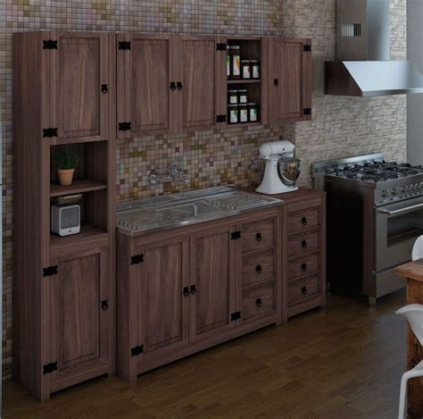 mueble auxiliar  cajones linea mexicana mueble cocina