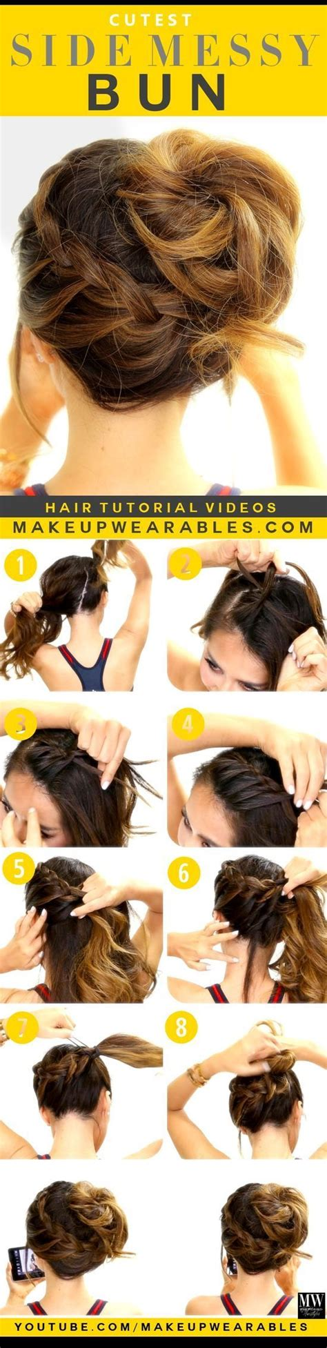 good hair bun in your 40s best 20 messy bun tutorials ideas on pinterest
