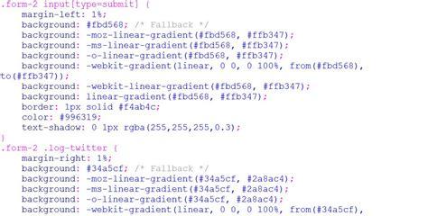 membuat form login html dan css membuat form login sederhana desain part 2 kursus web design