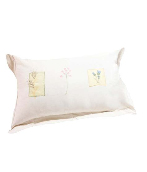 White Pillow Cover by Milanohome White Cotton Pillow Cover Buy Milanohome
