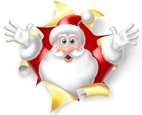 animated santa claus pictures cliparts co