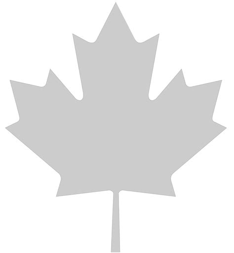 maple leaf canada white cliparts co