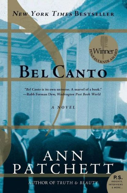 Pdf Bel Canto P S Patchett by Bel Canto By Patchett Paperback Barnes Noble 174