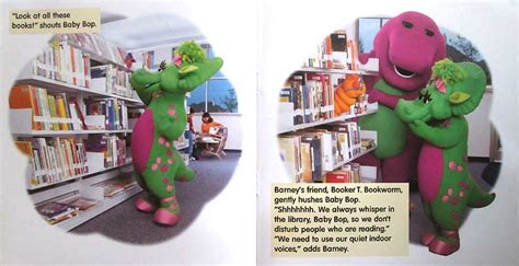 Buku Anak My Station Playset barney let s go to the library story book bukugaby