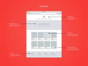 wireframe templates responsive wireframe templates gif by chris bannister