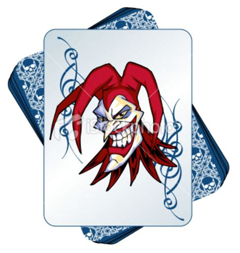 deck of cards joker istockphoto joker in a deck of cards free images at