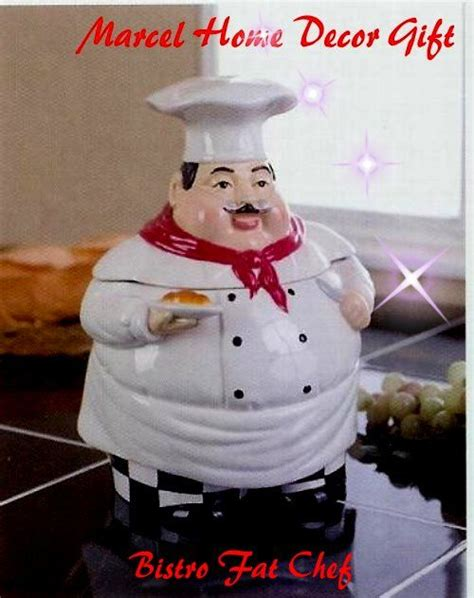 Italian Chef Fish And Real Salt Canister 17 best images about chef kitchen on