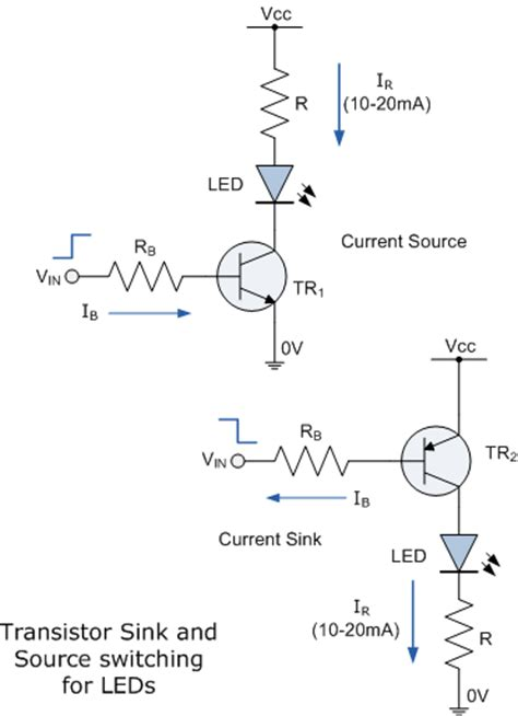 transistor driver ckt led driver circuit assignment help light emitting diodes