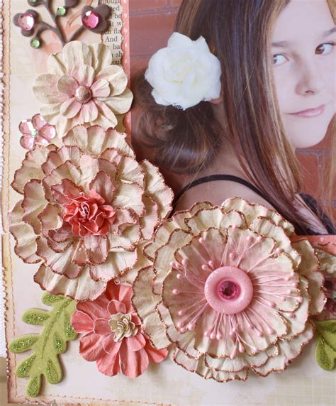 Handmade Flowers Tutorial - such a pretty mess bo bunny s beautiful collection