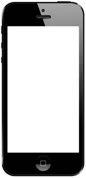 blank iphone template ios uiview with a custom shaped frame containing content