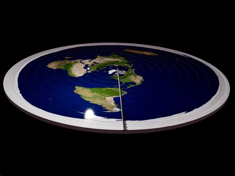 flat earth is earth actually flat