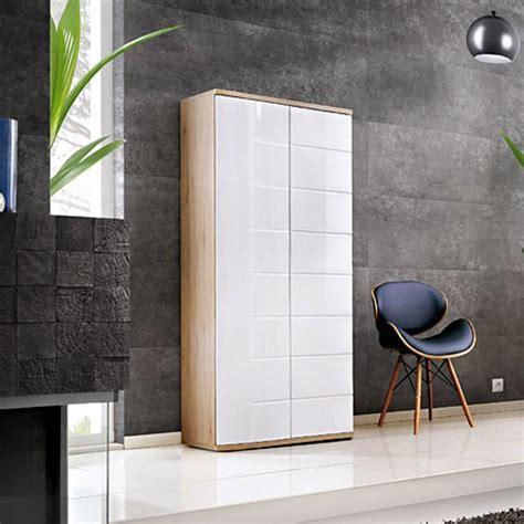 Armoire 80 Cm by Armoire 2 Portes Design Quot Ontario Quot 80cm Blanc