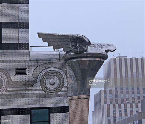 Chrysler Building Eagle by Chrysler Building Eagle Gargoyle On A Rainy Day Manhattan