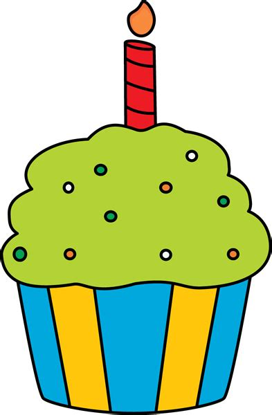 cupcake clipart free happy birthday cupcake clipart 101 clip