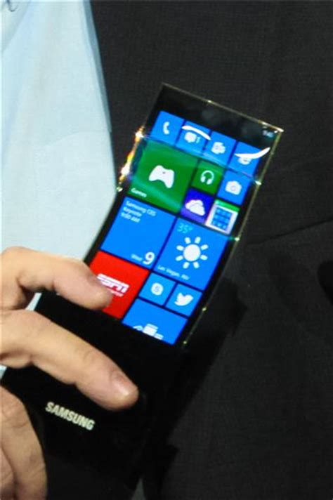 samsung foldable phone take a look at display windows phone prototype from samsung mspoweruser