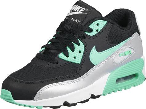 Nike Air Max 90 11 nike air max 90 mesh gs chaussures noir turquoise
