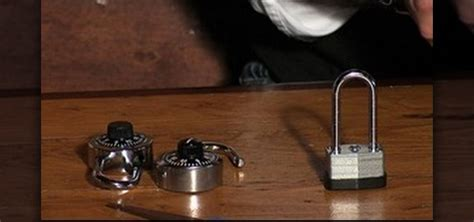 How To Open A Knob Lock by How To Open Combination Locks Without A Key Or Combination