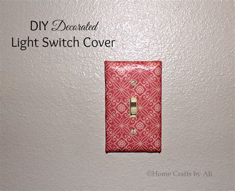 diy light switch covers diy decorated light switch cover home crafts by ali