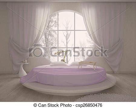 letto circolare archivio illustrazioni di finestra circolare letto