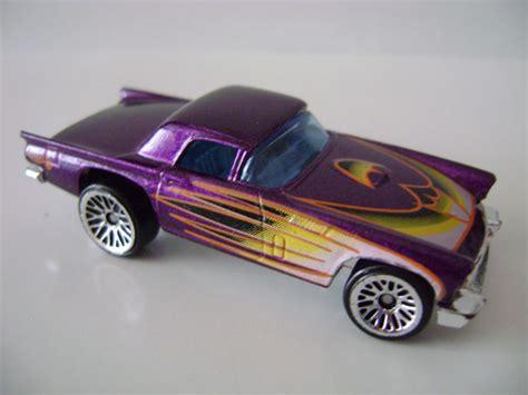 Hotwheels 2002 57 Roadster Th Metalflake Light Green 57tbird