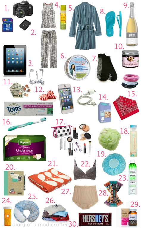 things to take to the hospital for a c section what s in my hospital bag diary of a mad crafter