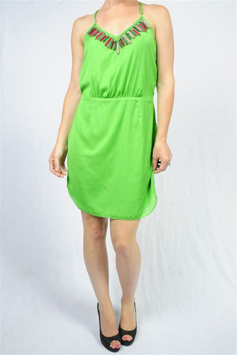 Dress Import 7453 cyprus green plaxi trim dress by greylin mapel boutique portland your local boutique