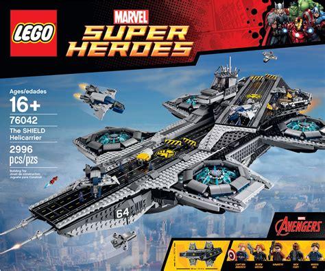 City Color Sculpt Marvel Set 1 lego helicarrier revealed images of s h i e l d set collider