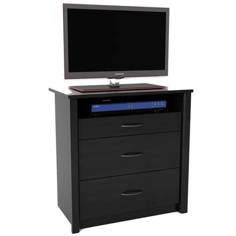 Media Dresser Black by Ameriwood Media Dresser Black Ash Chest Ebay