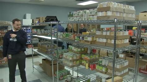 west suburban community pantry opens  school food pantry
