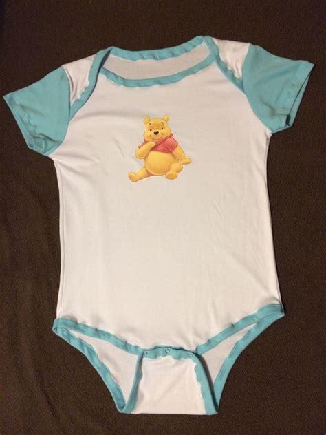 Handmade Onesies - custom handmade pooh baby romper costume one