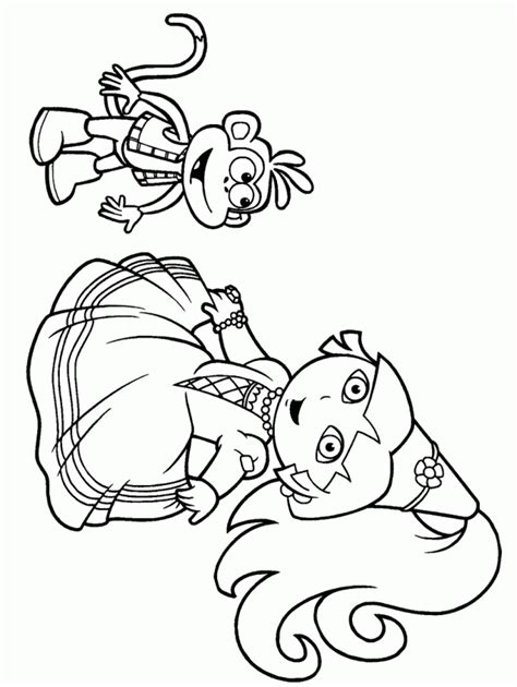 christmas coloring pages of dora the explorer dora printable coloring pages dora the explorer christmas