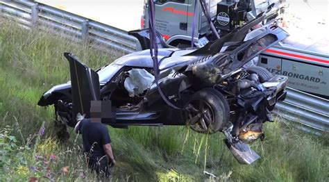 koenigsegg laredo as 237 ha sido el accidente koenigsegg one 1 en n 252 rburgring