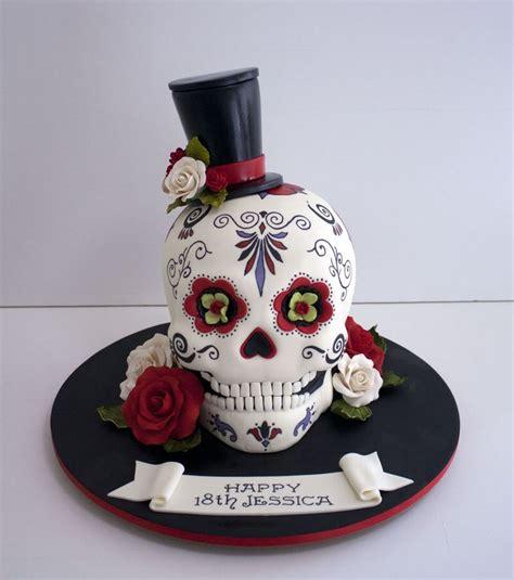 25 ideas sugar skull cakes skull cakes sugar skull halloween el