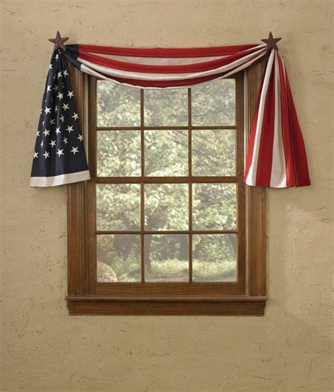 americana curtains window treatments 1000 ideas about swag curtains on pinterest tropical