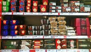 tesco unveils its christmas goodies with more than three