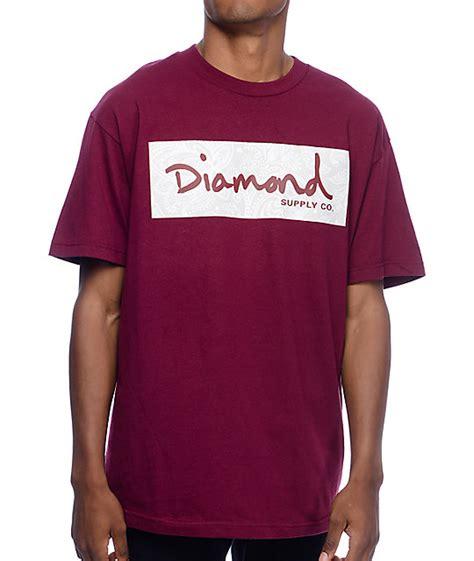 Hoodie Martin Garix Diamend Clothing supply co radiant box logo burgundy t shirt