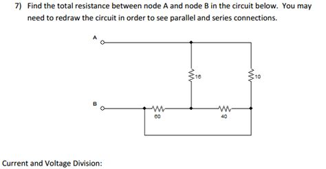 resistor network simplification electrical engineering archive june 13 2016 chegg