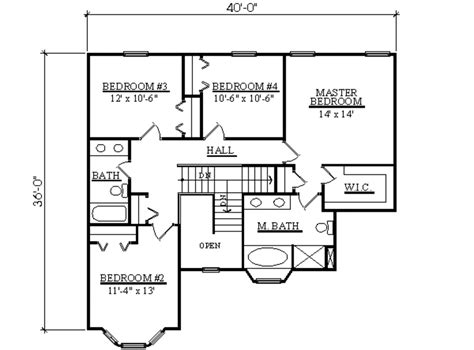 2300 square foot house plans traditional style house plan 4 beds 2 5 baths 2300 sq ft