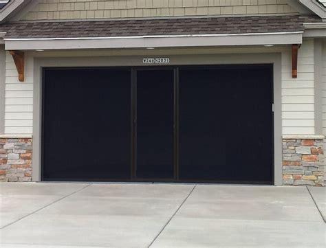 bug screen for garage door