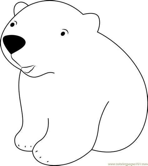 coloring pages the little polar bear baby polar bear coloring page free the little polar bear